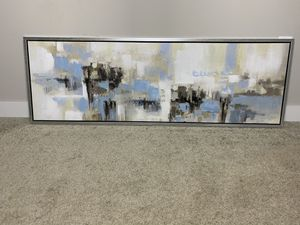 Abstract Frame Wall Art 20x59in for Sale in Saugus, MA