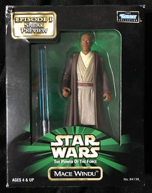Kenner Mace Windu Episode I Sneak Preview Action Figure for Sale in Raleigh, NC