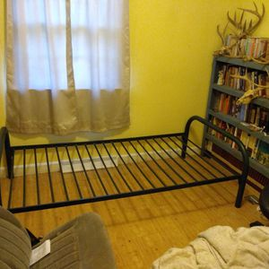 Steel Bed frame for single mattress for Sale in Farmville, VA