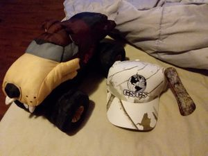 Real tree hat and stuffed taz truck for Sale in Hyattsville, MD