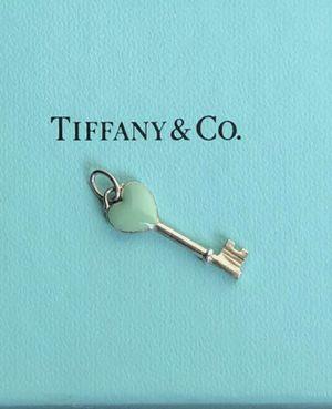 Tiffany & Co. Blue Heart Key Pendant for Sale in Scottsdale, AZ