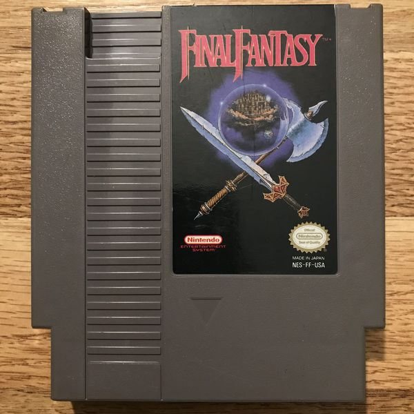 Final Fantasy Nintendo NES Game Only Tested and Working