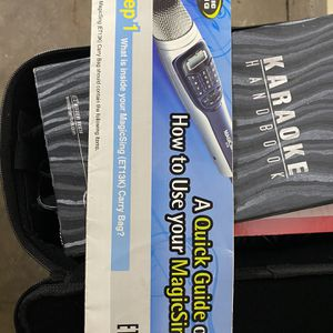 Karaoke Magic Sing for Sale in Claremont, CA