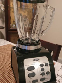 Oster BRLY07-B00-NP0 B 7-Speed Fusion Blender, Black for Sale in Everett,  WA