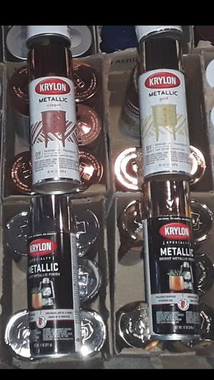 Krylon Metallic spray paint $5 EACH for Sale in Fontana, CA