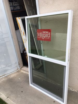 Yes still available brand new tempered glass vinyl block Milgard window for a great price 361/2. X 591/2 for Sale in Anaheim, CA