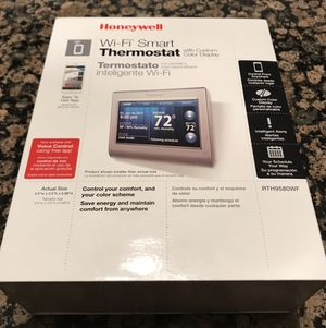 Honeywell WiFi smart thermostat for Sale in Lakehurst, NJ