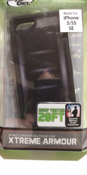 New! Impact Gel Xtreme Armour phone case for iPhone 5/5s SE for Sale in Brainerd, MN