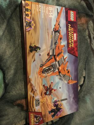 Lego marvel super heroes 76107 Thanos Ultimate Showdown Brand New Sealed In Box for Sale in Palm Harbor, FL