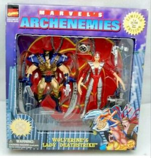 1997 Wolverine And Lady Deathstick Action Figure for Sale in Rosedale, MD