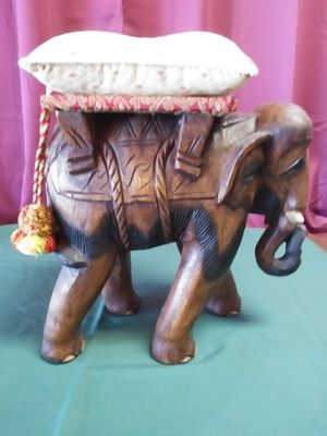 Carved Wooden Elephant from Thailand for Sale in Tallahassee, FL