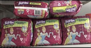 Huggies Girl Night Time Pull Ups 3t-4t(5bags) for Sale in Cleveland, OH