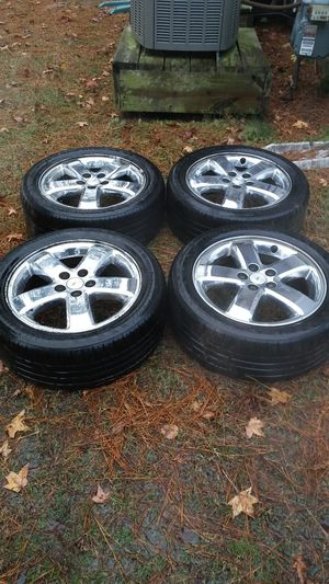 Set of 17 inch Chrome Pontiac G6 Wheels for Sale in Chesapeake, VA