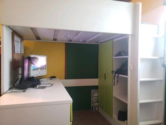 Twin Size Loft Bed for Sale in Lynn Center,  IL