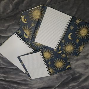Sun Moon And Stars Notebooks for Sale in Langhorne, PA