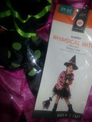 New in package kids costumes size 4T-5T for Sale in Glen Burnie, MD