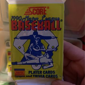 1990 MAJOR LEAGUE BASEBALL CARDES for Sale in Ceres, CA