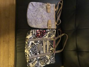 Coach and juicy couture purses for Sale in Pittsburgh, PA