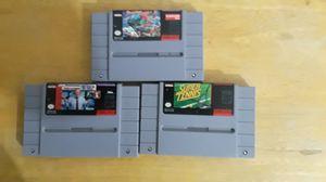 Super Nintendo games for Sale in Austin, TX