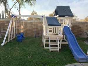 Swing set playhouse for Sale in Corona, CA