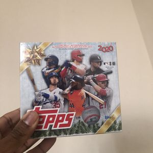 2020 Topps Holiday MLB Baseball Sealed Mega Box Walmart Exclusive for Sale in Houston, TX