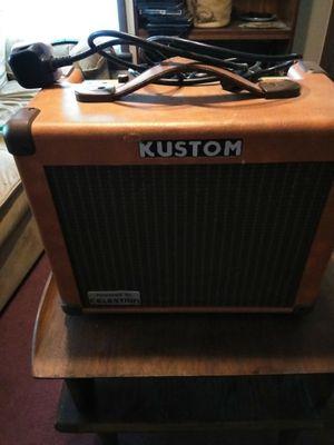 Kustom guitar amp for Sale in Baird, TX