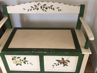Painted Bench With Storage for Sale in Snoqualmie,  WA