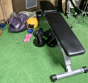 Powerline Folding Weight Bench - like new for Sale in Westmont, IL