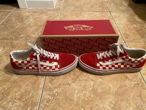 Vans Old School checkerboard for Sale in CORP CHRISTI, TX