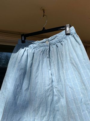 70s blue patterned skirt for Sale in Arlington, TX