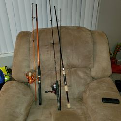 Fishing poles, reels, Tacklebox for Sale in Beavercreek,  OR