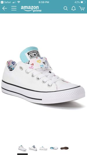 BRAND NEW- women's double tongued Converse Sz 8 for Sale in Portage, IN