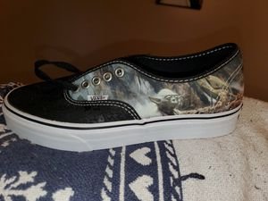 Vans Lucasfilm Star Wars Yoda Shoes W 8. 5 M 7. 0. for Sale in Madison, AL