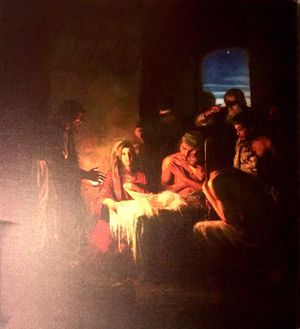 30x26 Nativity Carl Bloch Canvas for Sale in Woodbridge, VA