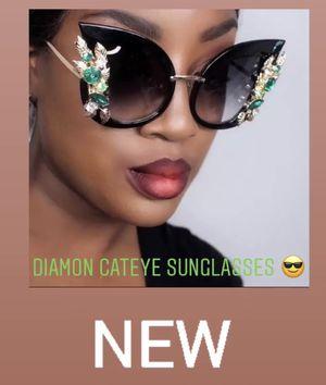 Diamond Cateye Sunglasses 🕶 for Sale in Torrington, CT