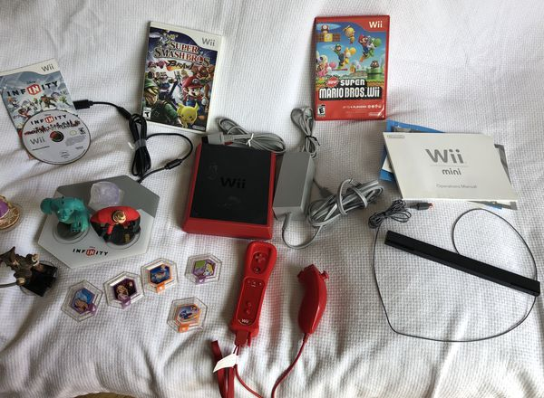 Wii mini with everything included