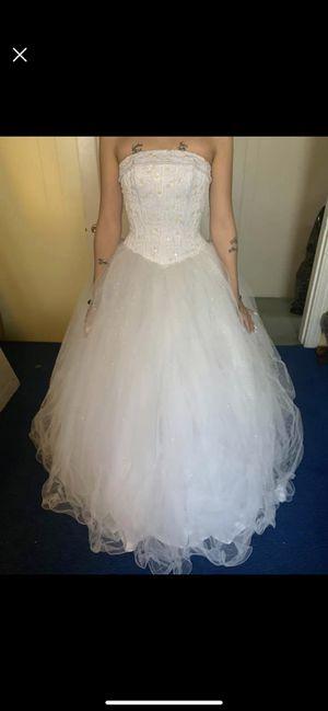 White dress for Sale in Bristol, PA