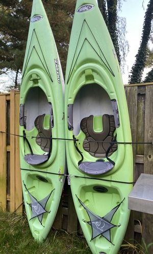 Set of kayaks with FREE accessories hurry! 1st come 1st serve for Sale in Gaithersburg, MD