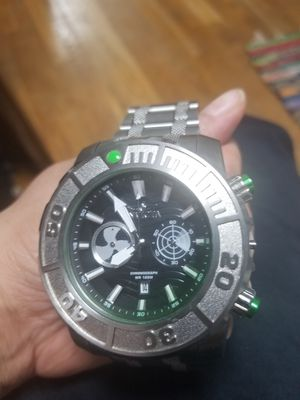 INVICTA MENS COALITION FORCES TACTICAL WATCH NEED REPAIRS WORKS FINE for Sale in Fairfax, VA