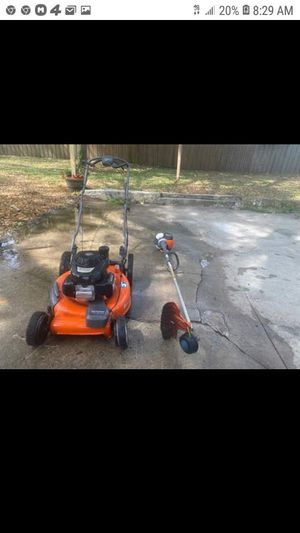 Husqvarna mower and weed eater for Sale in Jacksonville, FL