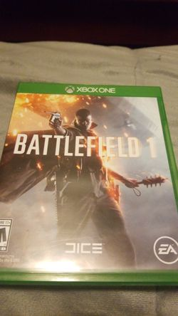 Battlefield 1 xbox one for Sale in San Angelo,  TX