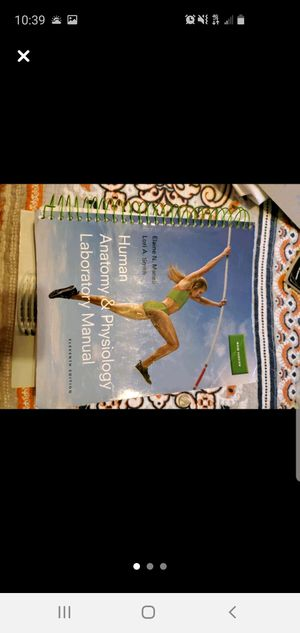 Human anatomy and physiology laboratory manual 11t for Sale in Ruskin, FL