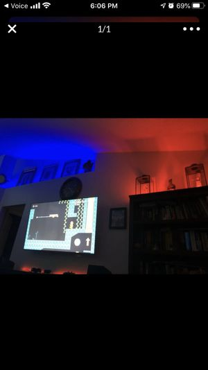 New 16 ft led strip alexa enabled or google. Use your voice to change colors for Sale in Orlando, FL