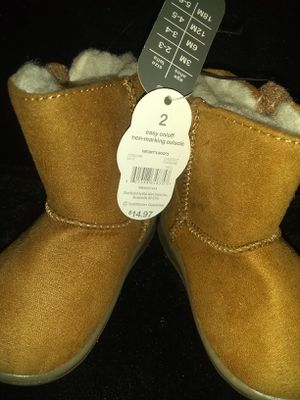 Baby Girl boots size 2 for Sale in Federal Way, WA
