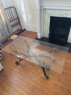 Glass coffee table for Sale in Richmond, VA