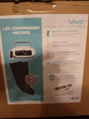 Brand new 229.00 leg compression machine 50.00 for Sale in Nashville, TN