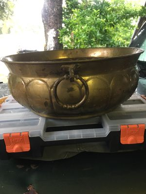 Brass Bowl for Sale in Hollywood, FL