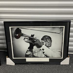 Framed Photo Louis Armstrong for Sale in Northbrook, IL
