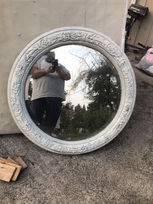 Oval glass mirror for Sale in Sumner, WA