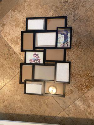 12 Photo Collage Frame- Black for Sale in Gilbert, AZ